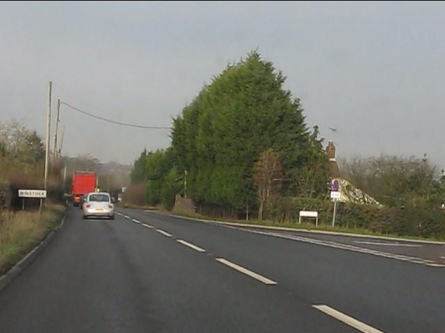 A41 at Marsh Lane, Hinstock