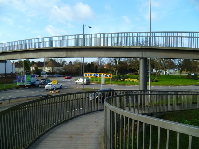 Stockbridge roundabout (1)