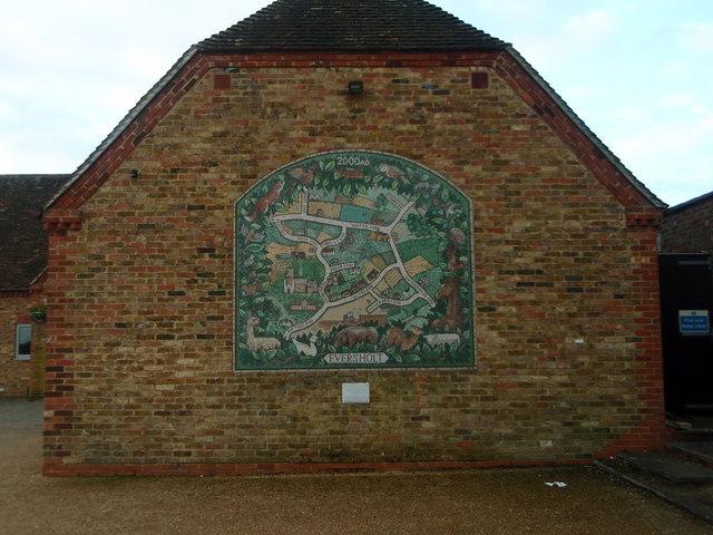Eversholt village map