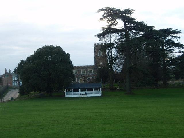 Eversholt cricket pavilion