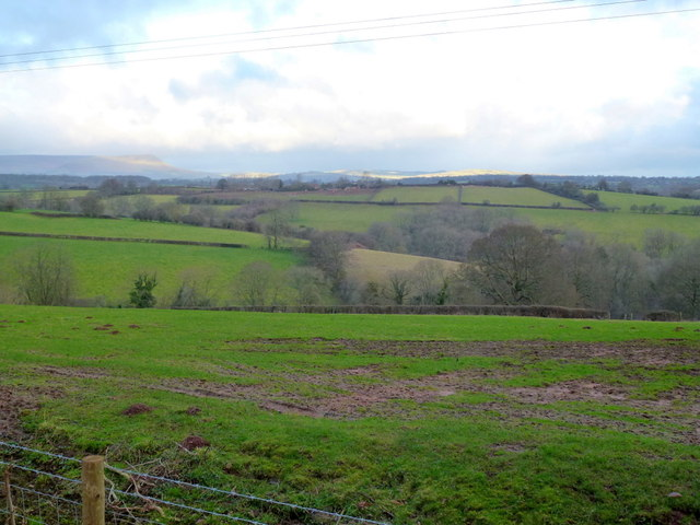 West Herefordshire countryside