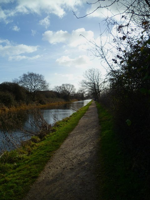 Tow path by Chichester Canal