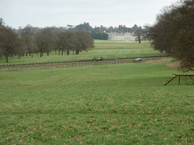 Woburn House from a distance