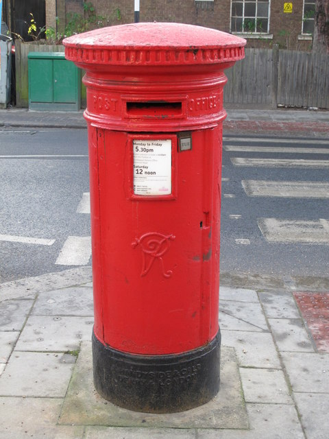 Victorian postbox, Colindale Avenue, NW9