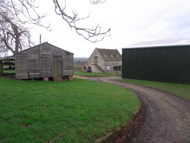 Footpath  through the farm