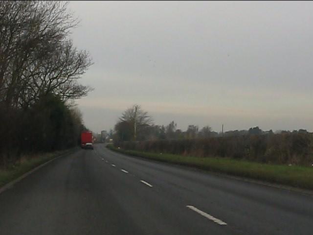 A41 near Lavender Cottage
