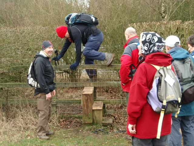 Negotiating a stile with style