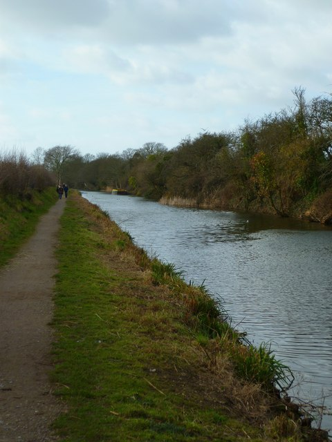 Chichester Canal west of Selsey Tramway route
