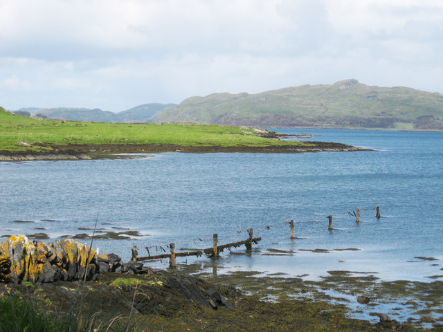 Coastline at Toberonochy