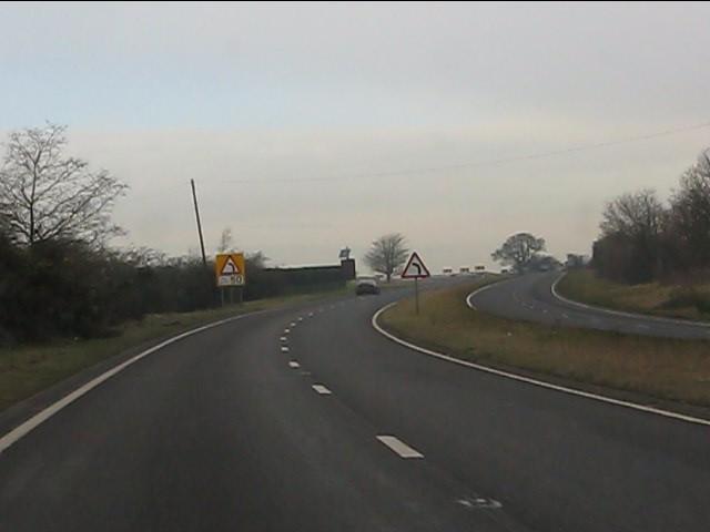 A41 starts to corkscrew