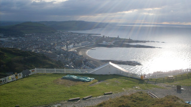 View over Aberystwyth