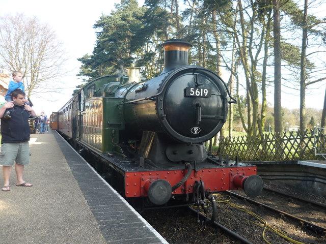 A Steam Train
