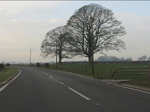 A41 near Ashford Grange
