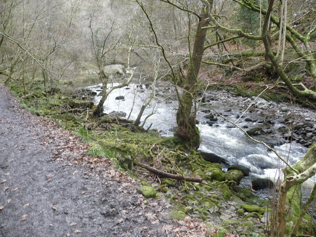 Part of the Afon Nedd Fechan