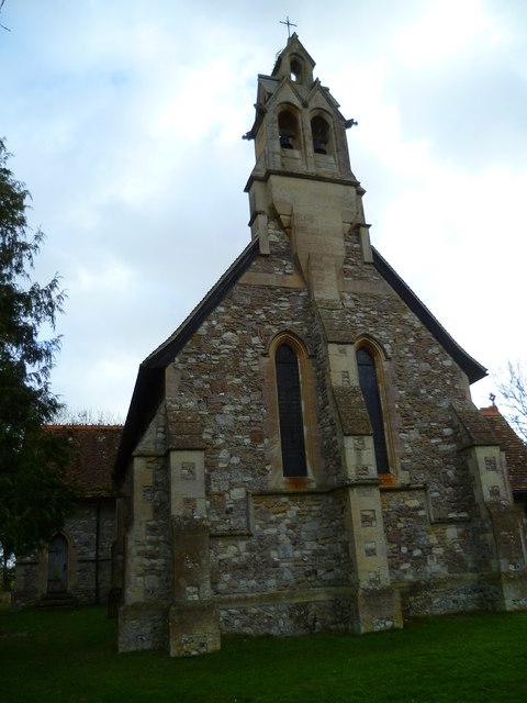 Western elevation of Hunston church