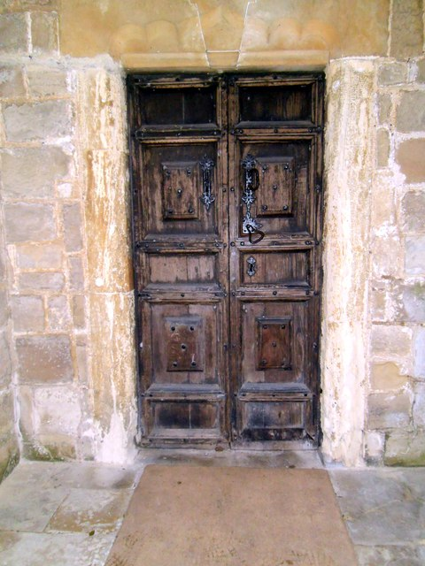 Ledsham Church Door