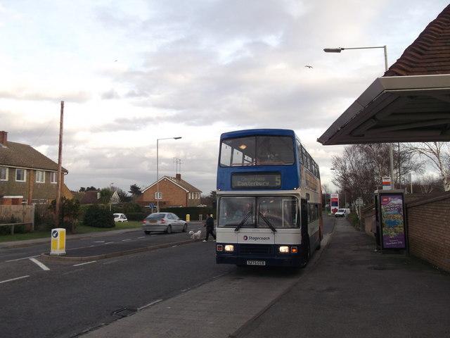 Bus Stop near Tesco's Extra