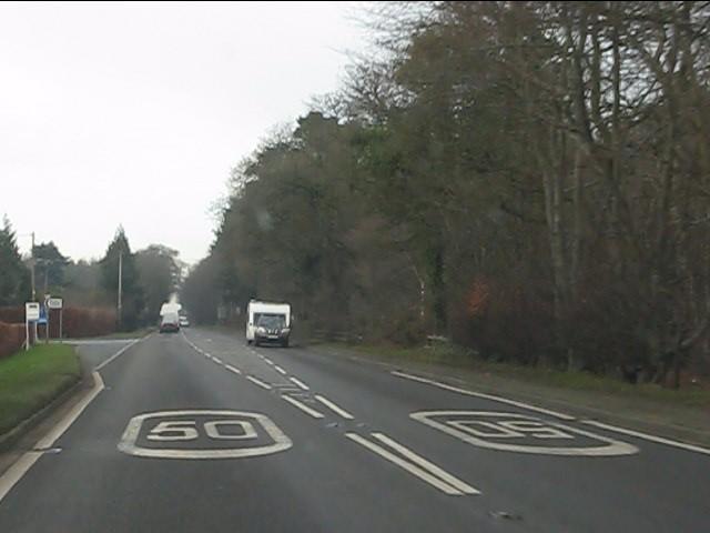 A41 at Heathwood Road