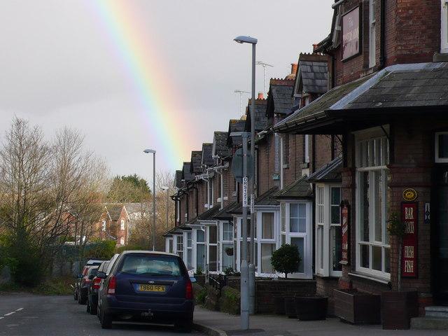 Monmouth Road Rainbow