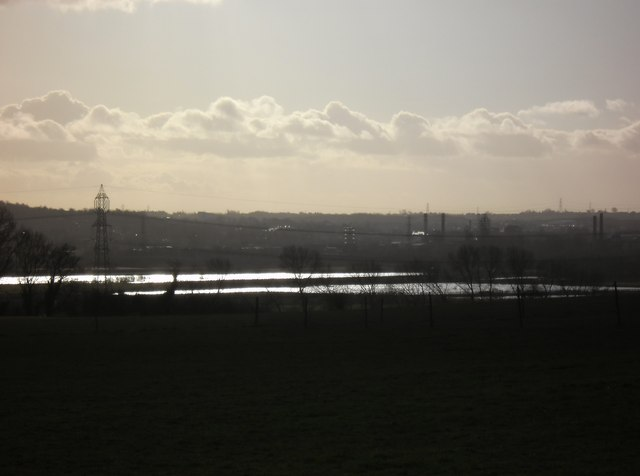 View of Newton Ings taken from Ledston Hall footpath