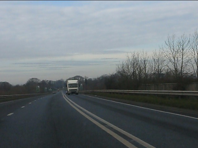 A41 Whitchurch bypass near Oakfields
