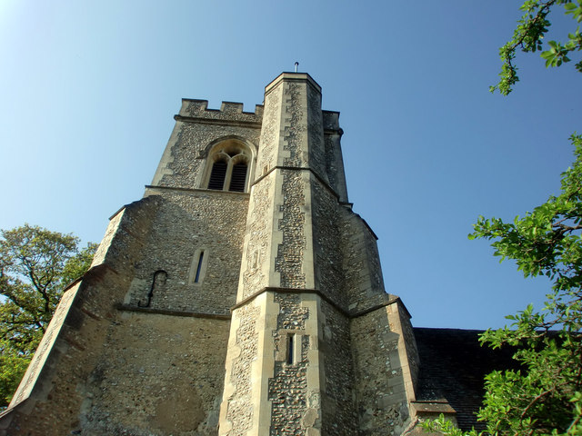 Tower of Church of St Mary and St Thomas, Knebworth