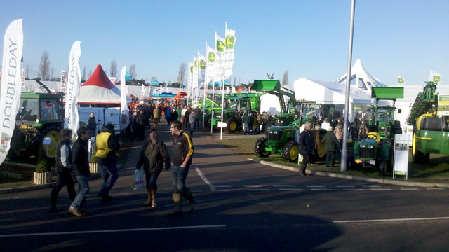 Farm machinery show, Newark