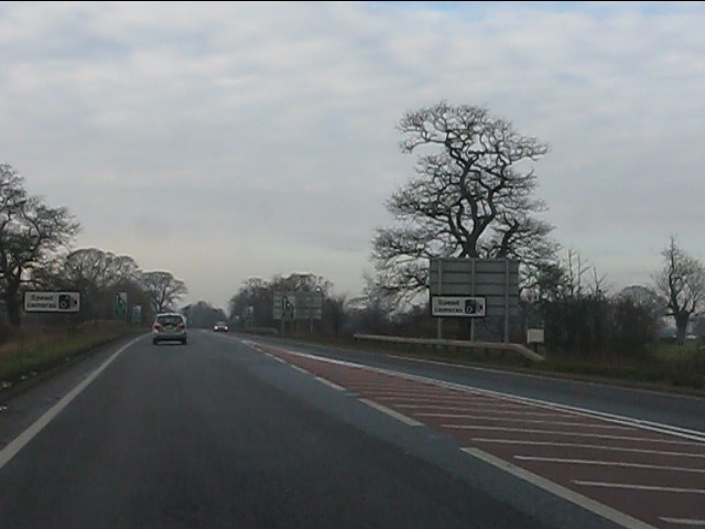 Whitchurch bypass west of Tilstock Road roundabout