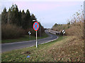 SP0302 : Northbound sliproad from A429 Burford Road on to A417(T) dual carriageway by Vieve Forward