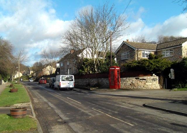 Ledston village and the White Horse Inn