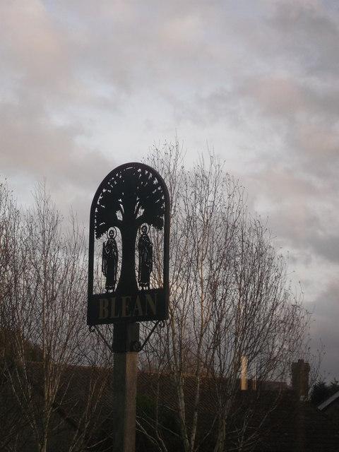 Blean Village Sign