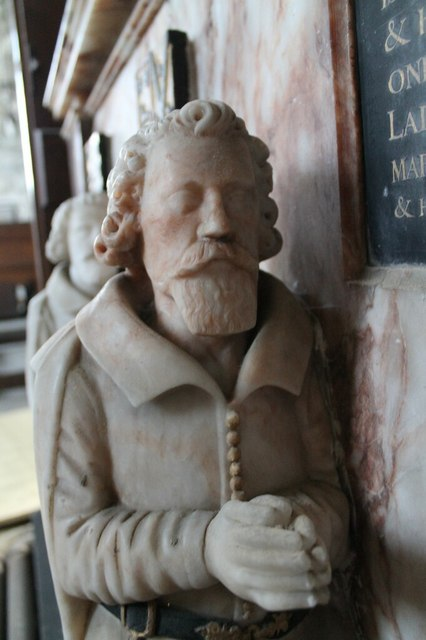 Thomas Heneage, memorial, St Mary's Hainton