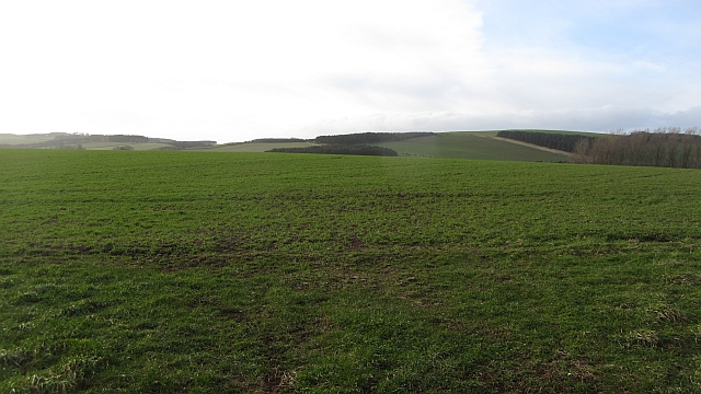 Arable land near Mindrum