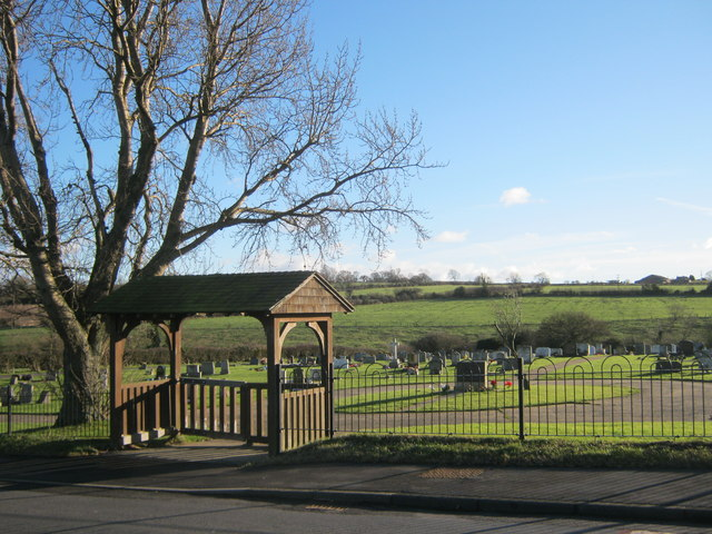 Entrance to Witton Park Cemetery