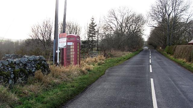 Telephone box, Mindrum