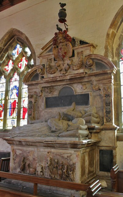 Sir John Reade Memorial, Ss Mary & Nicholas church, Wrangle