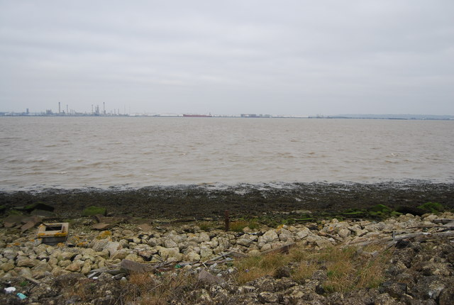 Looking out to the Thames Estuary