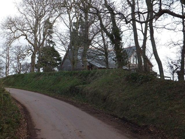 Minor road climbing from Goosemoor