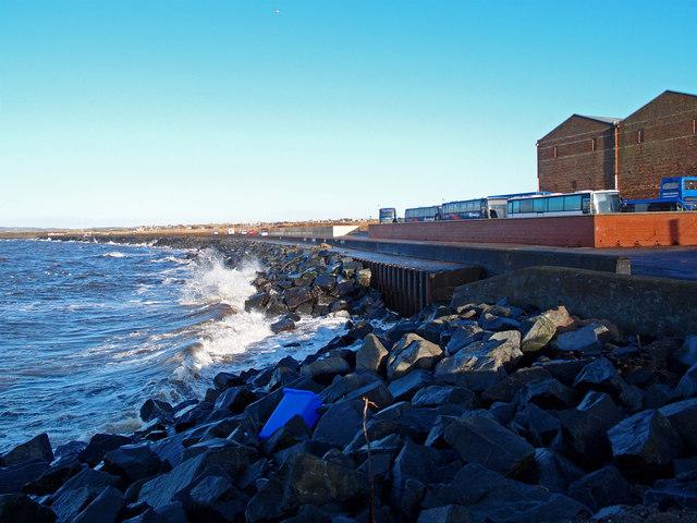 Sea Wall, Newton on Ayr