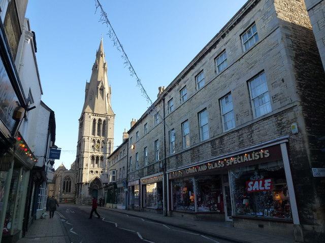 St Mary's Street, Stamford