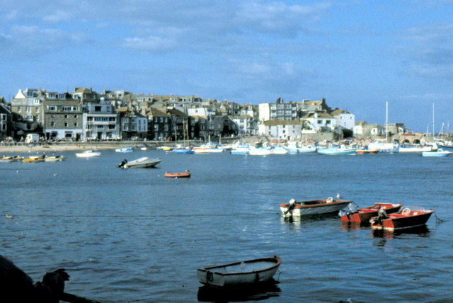 St Ives Harbour - 1982