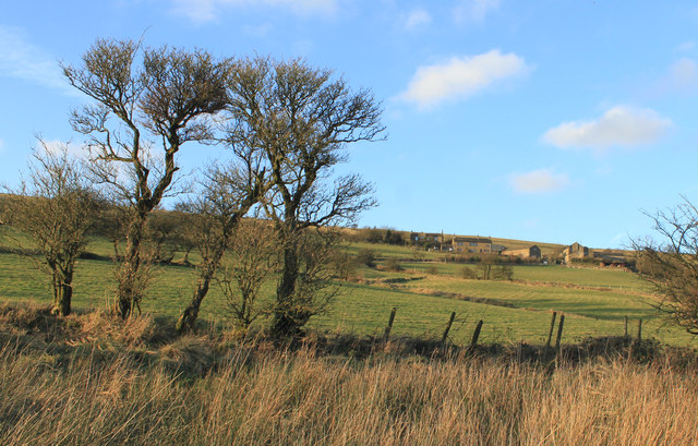 The lower Castleshaw valley