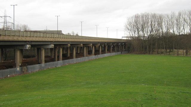 M6 motorway near Castle Bromwich