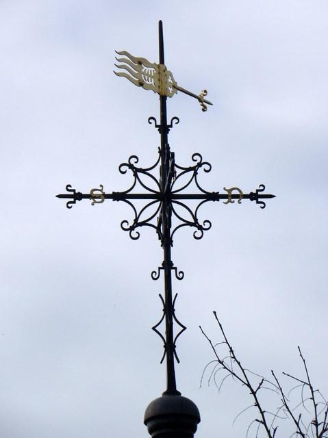 Weather vane, St Marie's Grange
