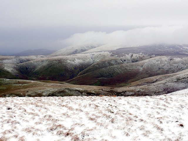 North-east from Windy Gyle