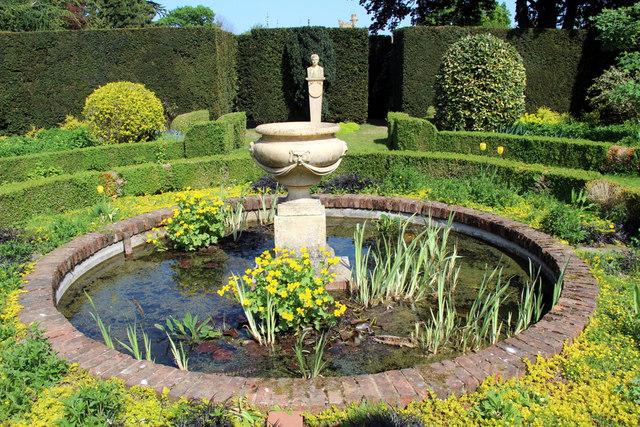 Fountain, Knebworth House, Hertfordshire