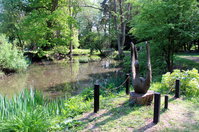 Sculpture, Knebworth House, Hertfordshire