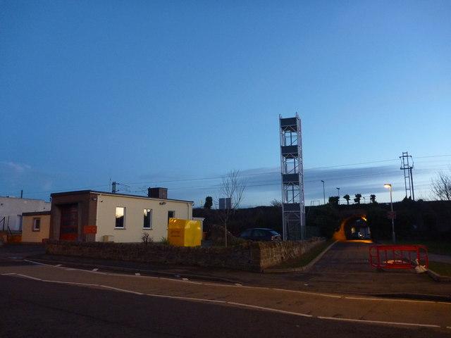 East Lothian Townscape : Dunbar Fire Station