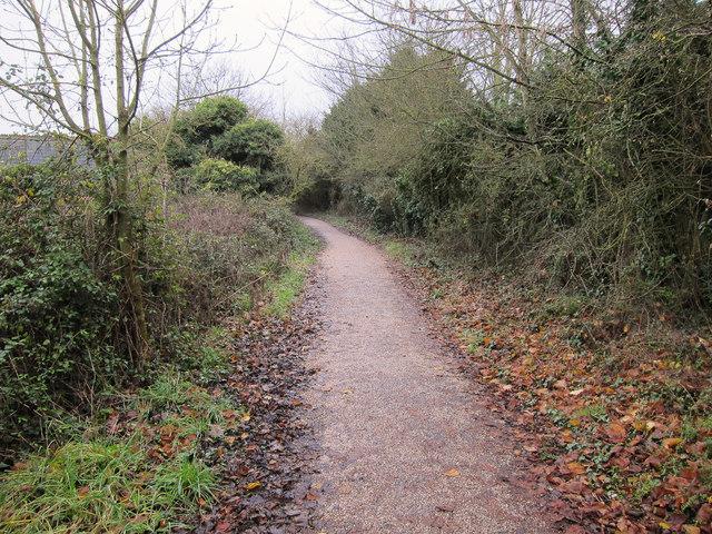 Old railway line, Langstone