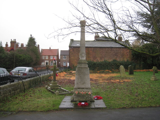 War memorial, Riccall